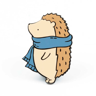 Limited Edition Henrietta Hedgehog Gardening Pin // Summer 2018