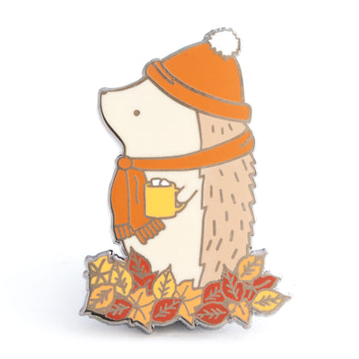 Limited Edition Hedgehog Fall Pin // Fall 2018 (original version)