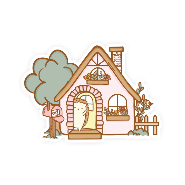 Brambleberry Hedge Hollow Cottage Vinyl Sticker