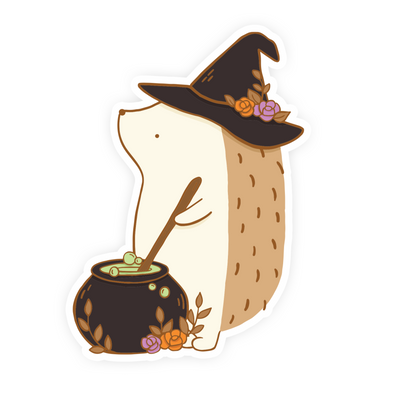 Henrietta Witch Vinyl Sticker