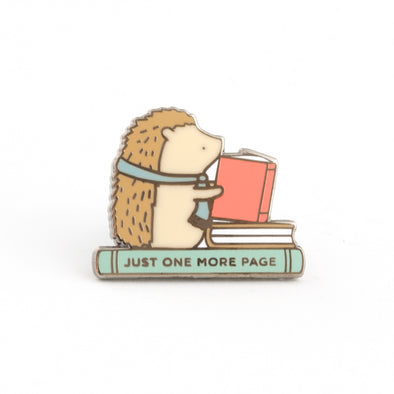 Just One More Page Pin