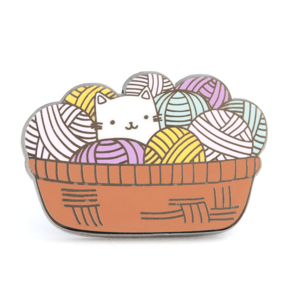 Cat Yarn Pin