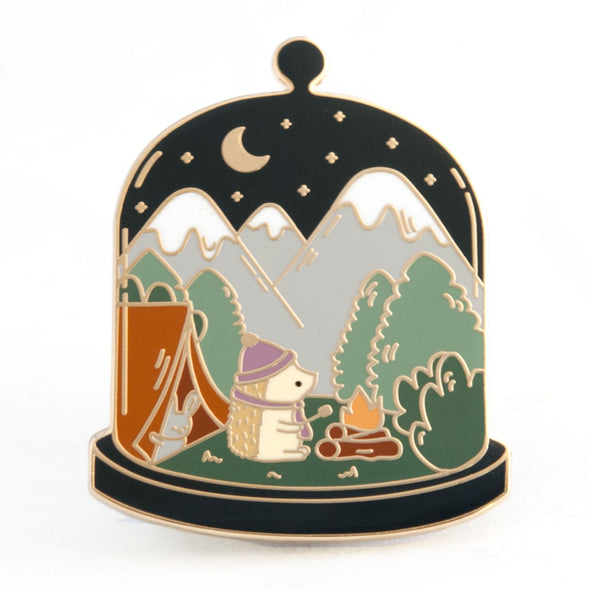 Little Worlds Camping Pin