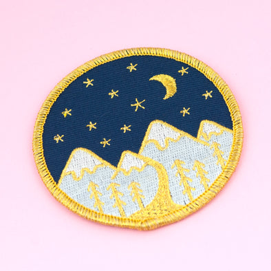 Mountain Embroidered Patch