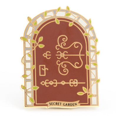 Secret Garden Enamel Pin