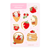 Strawberry Adventures Sticker Sheet