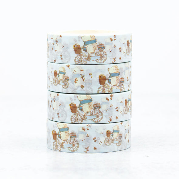 Henrietta Biking Washi Tape