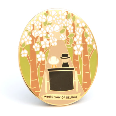 White Way of Delight Pin
