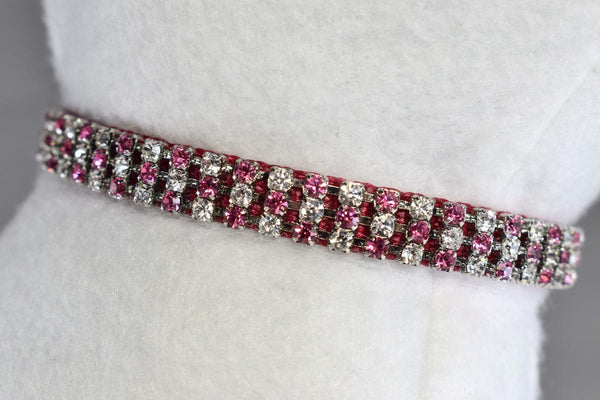 "Bella Rose Swarovski® Rhinestone Collar - 3/8"" Wide"