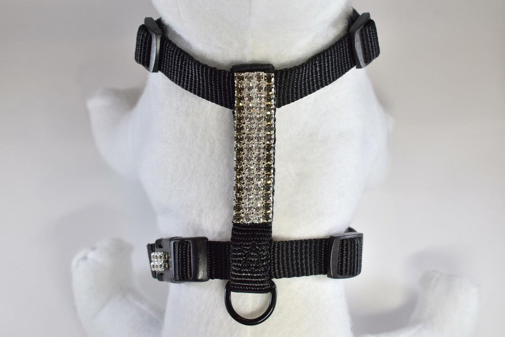 Formal Affair Rhinestone Fully Adjustable Comfort Harness