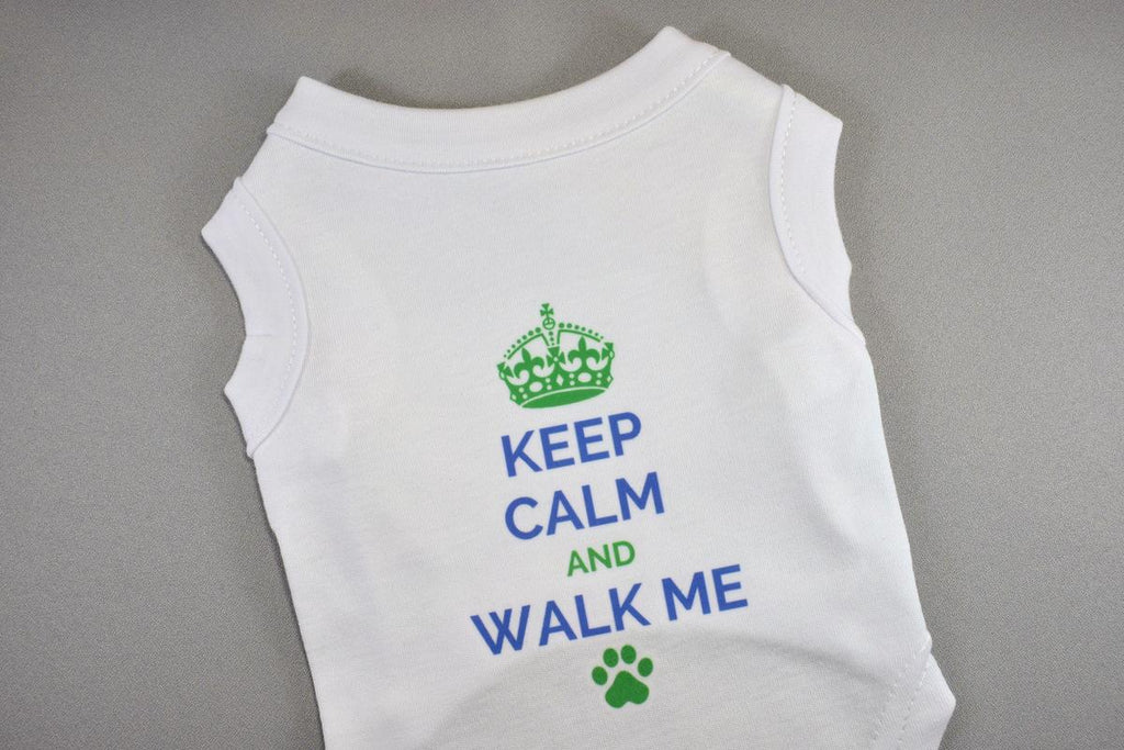 Keep Clam and Walk Me Pet Shirt