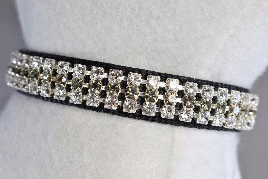 "Formal Affair Rhinestone Collar - 5/8"" Wide"