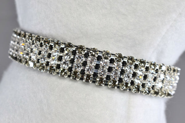 "Formal Affair II Rhinestone Collar - 5/8"" Wide"