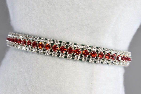 "NEW! Noelle Petite Rhinestone Collar - 3/8"" Wide"