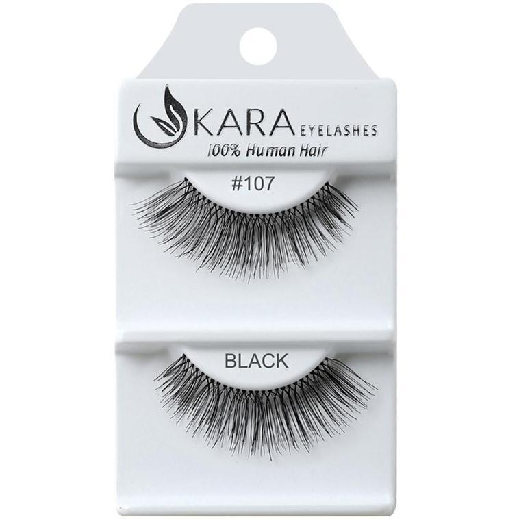 KARA BEAUTY EYELASHES #107 (12PRS)