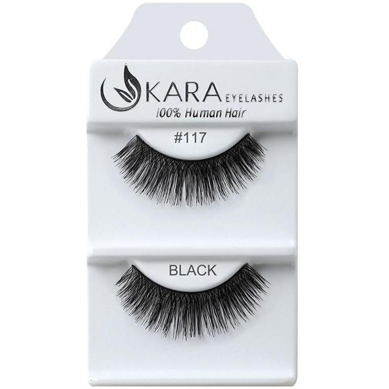 KARA BEAUTY EYELASHES #117 (12PRS)