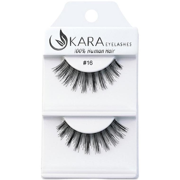 KARA BEAUTY EYELASHES #16 (12PRS)