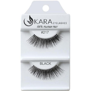 KARA BEAUTY EYELASHES #217 (12PRS)