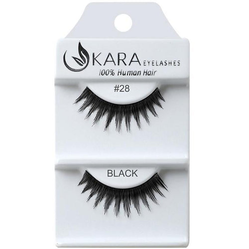 KARA BEAUTY EYELASHES #28 (12PRS)
