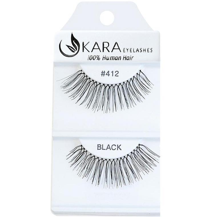 KARA BEAUTY EYELASHES #412 (12PRS)
