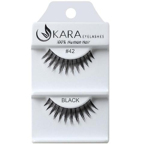 KARA BEAUTY EYELASHES #42 (12PRS)