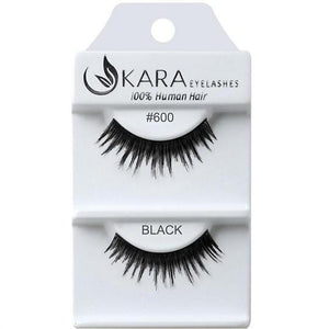 KARA BEAUTY EYELASHES #600 (12PRS)