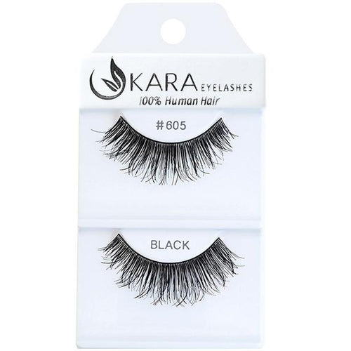 KARA BEAUTY EYELASHES #605 (12PRS)