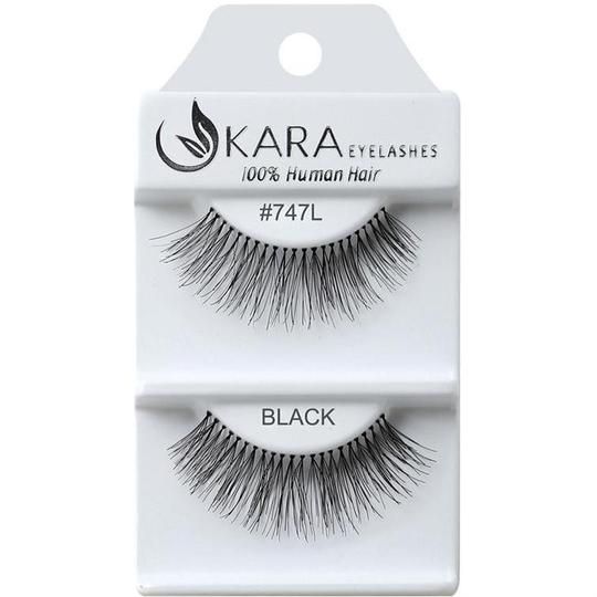 KARA BEAUTY EYELASHES #747L (12PRS)