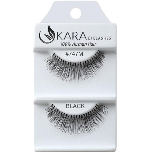 KARA BEAUTY EYELASHES #747M (12PRS)