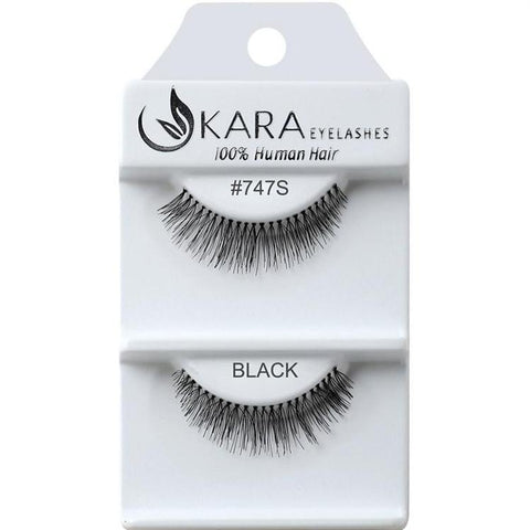 KARA BEAUTY EYELASHES #747S (12PRS)