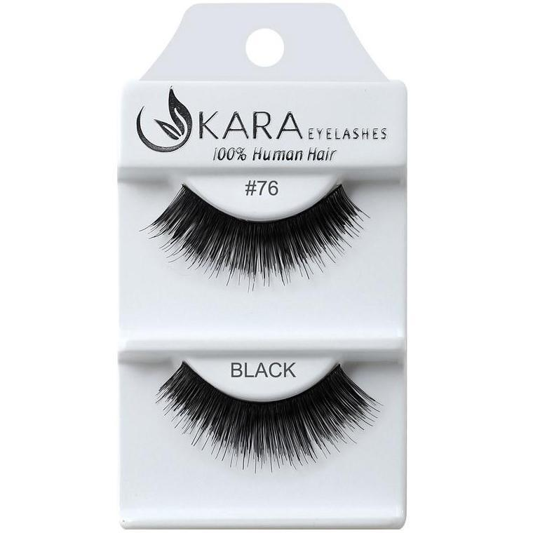KARA BEAUTY EYELASHES #76 (12PRS)