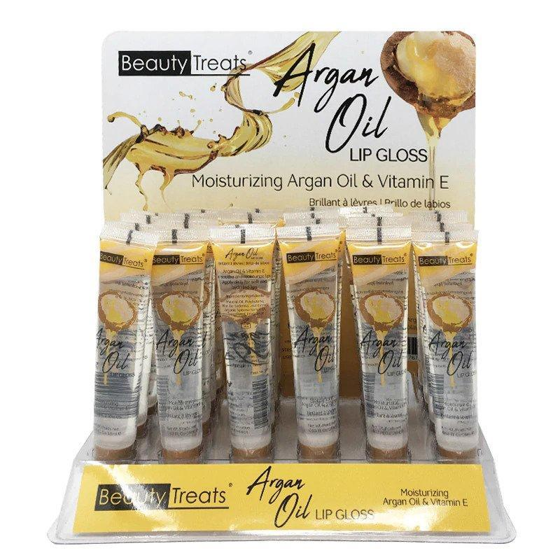 ARGAN OIL LIPGLOSS (24PC)