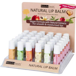 NATURAL LIP BALM (36PC)