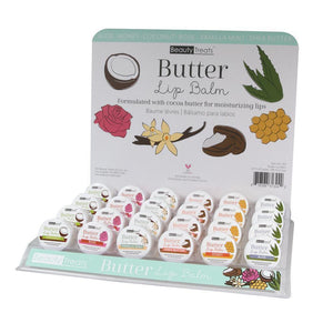BEAUTY TREATS BUTTER LIPBALM SET (24PC)
