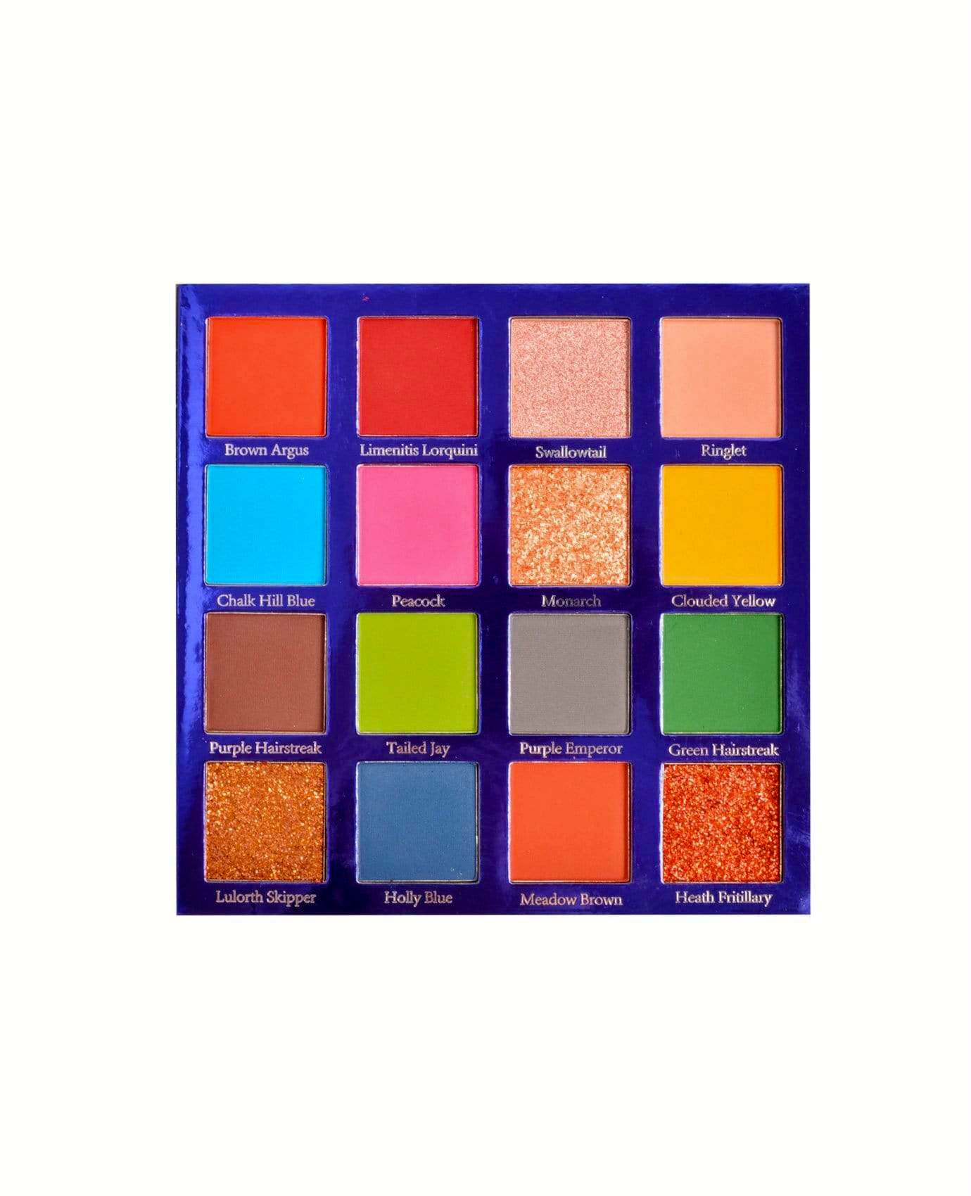 MG678 BUTTERFLY 16CLR EYESHADOW (3PC)