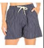P3424 SHORT STRIPE TIE (3PC) NAVY