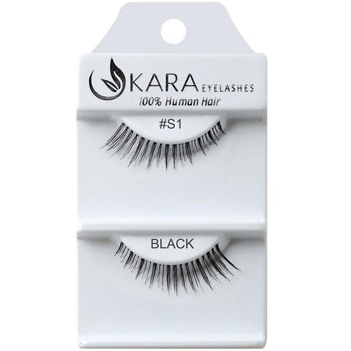 KARA BEAUTY EYELASHES #S1 (12PRS)