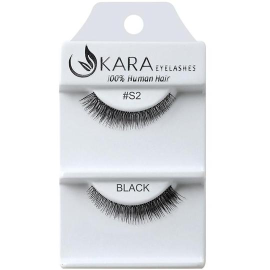 KARA BEAUTY EYELASHES #S2 (12PRS)