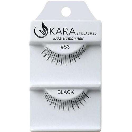 KARA BEAUTY EYELASHES #S3 (12PRS)