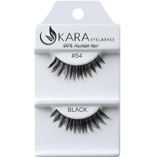 KARA BEAUTY EYELASHES #S4 (12PRS)
