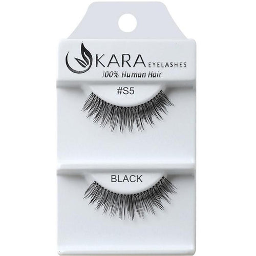 KARA BEAUTY EYELASHES #S5 (12PRS)
