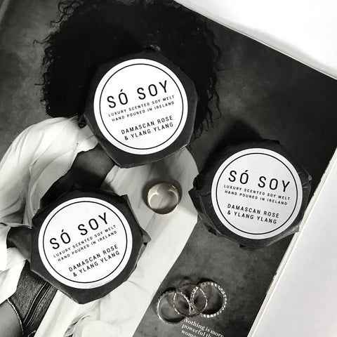 Damascan Rose & Ylang Ylang - Wax Melt - Só Soy Candles