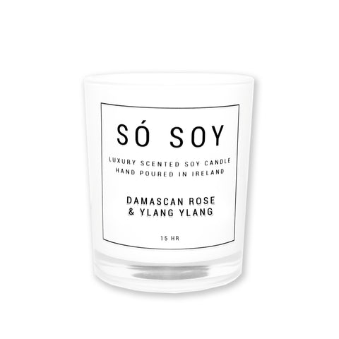 Small Damascan Rose & Ylang Ylang - Só Soy Candles