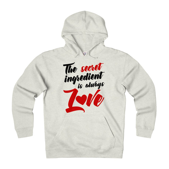 The Secret Ingredient Is Always Love Unisex Heavyweight Fleece Hoodie