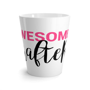 Awesome Crafter Latte mug