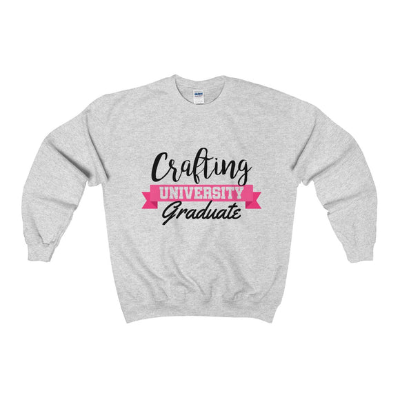 Crafting University Graduate Unisex Heavy Blend™ Crewneck Sweatshirt