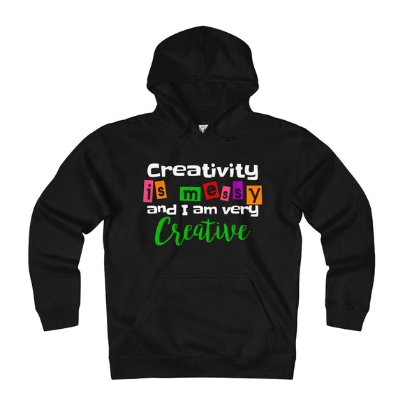 Creativity Is Messy And I Am Very Creative Unisex Heavyweight Fleece Hoodie