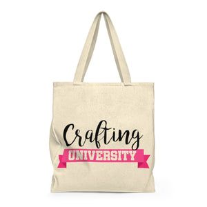 Crafting University Shoulder Tote Bag - Roomy