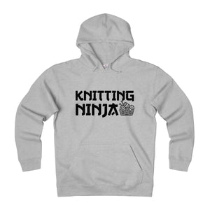 Knitting Ninja Unisex Heavyweight Fleece Hoodie