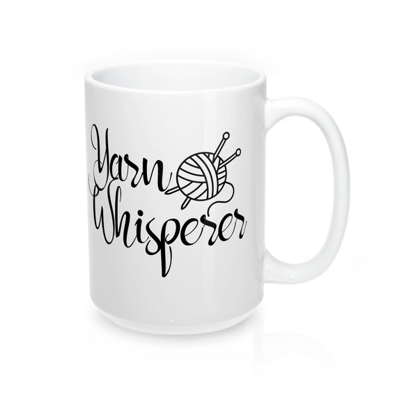 Yarn Whisperer Mug 15oz